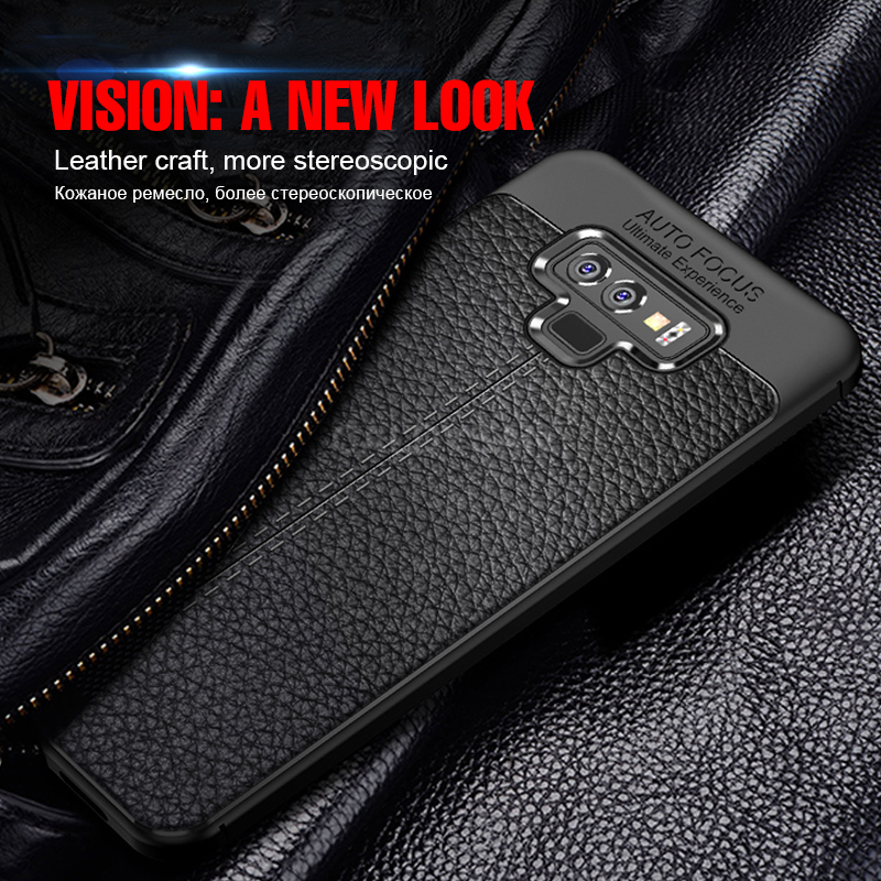 Ultra-Thin Soft Silicone Leather Case For Samsung Galaxy Note 9 8 S8 S9 S10 PLus S10E Full Cover For S7 Edge S8 Matte TPU Case