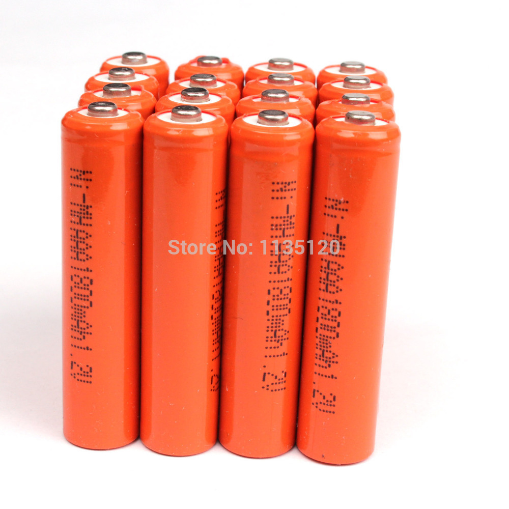 Red color New For ! 4 PCS AAA 3A 1800mAh 1.2V Ni-MH Rechargeable Battery new for 2016 2 pcs aaa 3a 1800mah 1 2v ni mh rechargeable battery