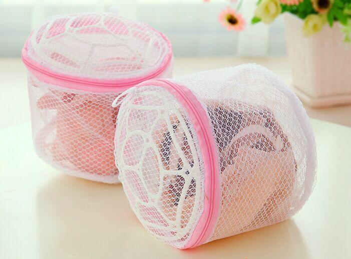 5pcs /Pack Zipped Mesh Laundry Washing Machine Bag Durable Basket Net Socks Bra Clothes