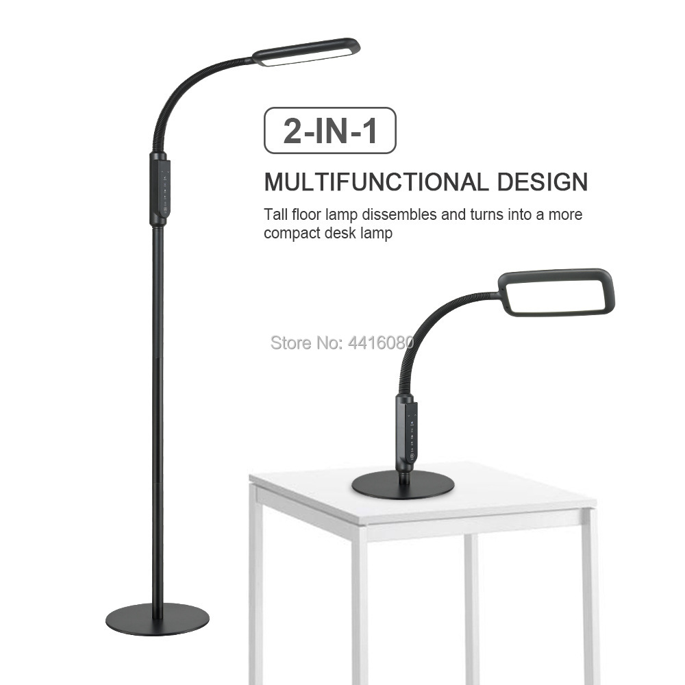 59e51051f76 DIY multi-function lamp (floor lamp, table lamp, table lamp), remove a pole  is the table lamp, and then remove the two poles is the table lamp.