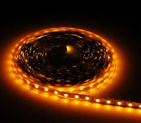 Free Shipping Led Strip 5050 DC12V/24V LED Strip Non-Waterproof 60leds/m 5M/lot 300 Led Tape Lamp Flexible Ledstrip Lights