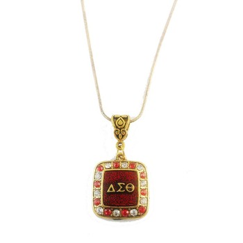 Delta Sigma Theta Sorority necklace delta Necklace With 50CM snake Chain 1pcs 1