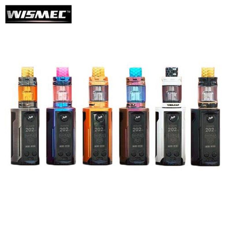 Original Wismec Reuleaux RX GEN3 Dual Kit with 5.8ML GNOME King Tank 230W RX GEN 3 Dual Box MOD Electronic Cigarette Pre-order