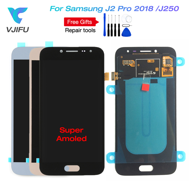 J250 Screen For Samsung Galaxy J2 pro 2018 J250F/DS LCD Display Touch Screen Digitizer assembly for Samsung Grand Prime Pro LCD