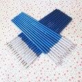 10 unids/set fino pintado a mano fina línea de gancho pluma azul bastón arte pluma pincel arte suministros de nailon cepillo OFERTA ESPECIAL
