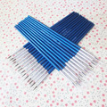 10 unids/set pintada a mano fina pluma gancho línea azul bastón del arte del dibujo de la pluma del cepillo de pintura de Nylon cepillo OFERTA ESPECIAL