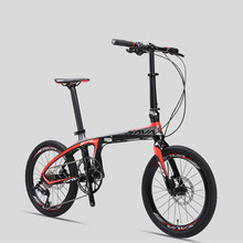New Brand Carbon Fiber light folding bicycle outdoor sports