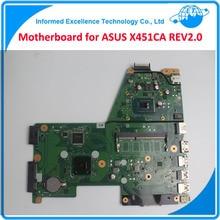 Haute Qualité Carte Mère pour ASUS X451CA REV2.0 Ordinateur Portable Mainrboard L'intégration Testé et Paquet Bien