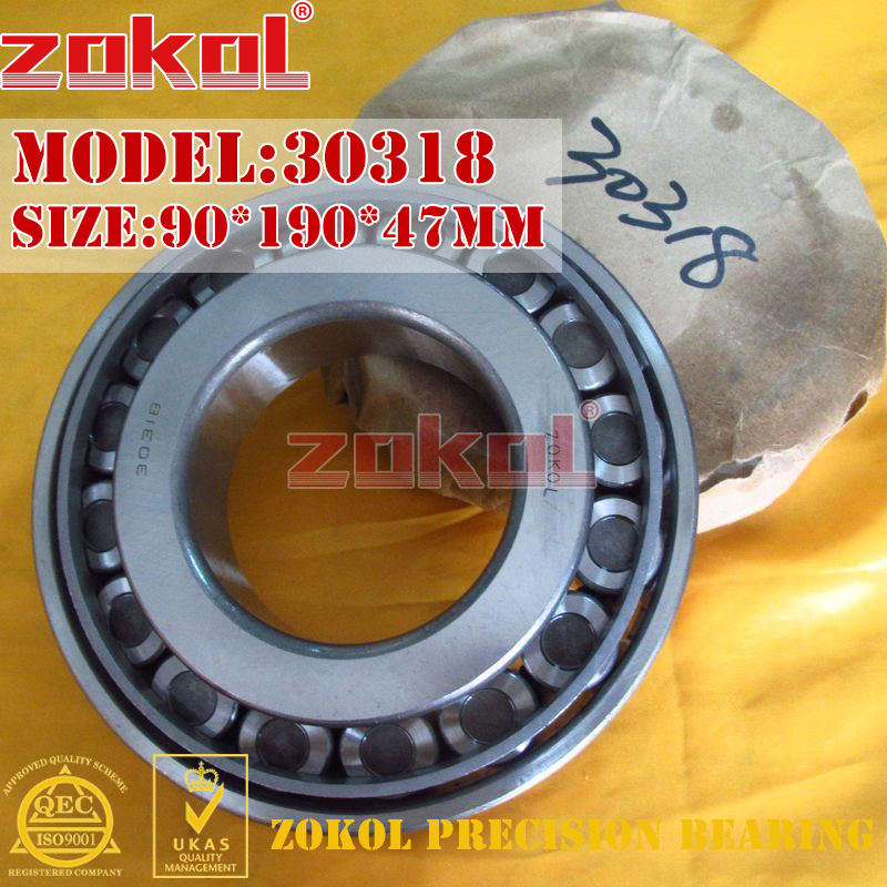 где купить ZOKOL bearing 30318 7318E Tapered Roller Bearing 90*190*47mm дешево