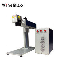 Fiber Laser Marking Machine 20W 30W 50W optional power laser engraving machine cheap price for keyboards bottle cell phone cover
