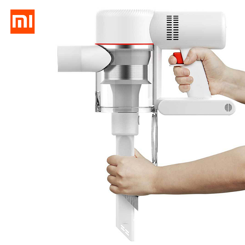 Image 3 - Xiaomi Dreame V9 Handheld Cordless Vacuum Cleaner Portable Wireless Cyclone Filter Dust Collector home  Xiaomi Mi Carpet Sweep-in Vacuum Cleaners from Home Appliances