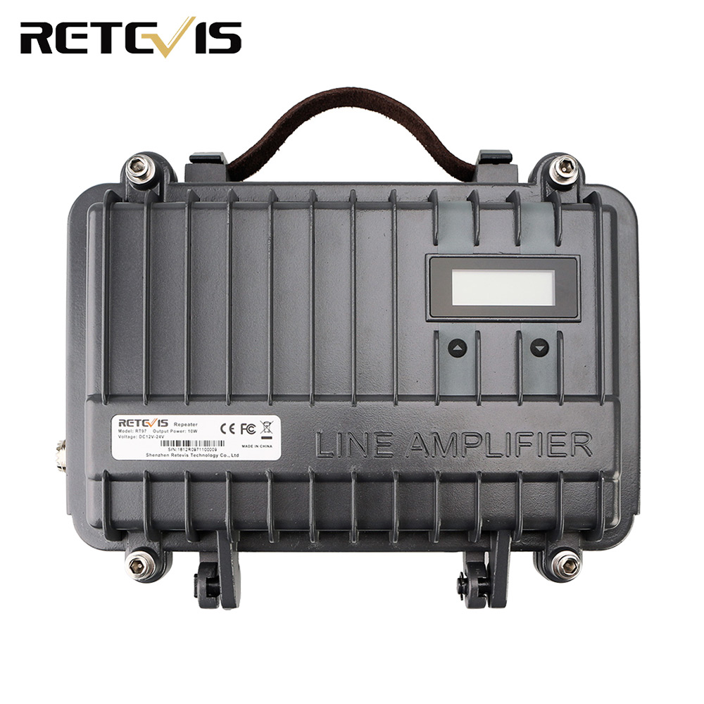 Retevis RT97 10W Portable Two Way Radio Repeater VHF UHF Power Amplifier Power Divider Customized Repeater