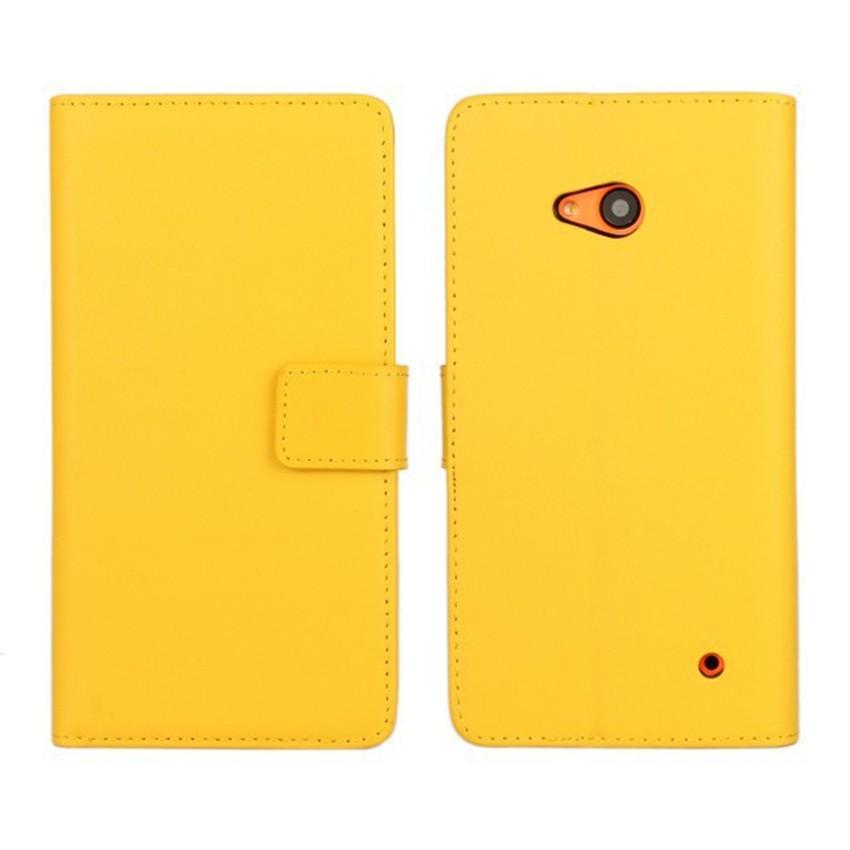 Luksusowe odwróć portfel genuine leather case pokrywa dla microsoft lumia 640 lte dual sim cell phone case do nokia 640 n640 powrót pokrywa 11