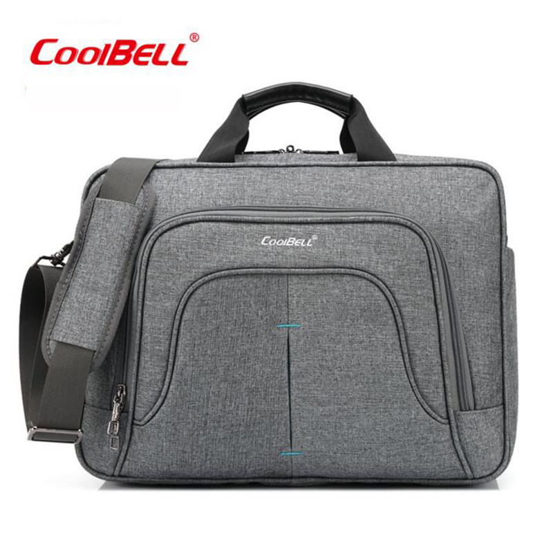 Cool Bell 15 inches Notebook Computer Bag Casual Travel Handbag Shockproof Laptop Bag A4 File Single Shoulder Bag For Men M403 термосумка премиум класса pv cool bag 38 a bk 6257