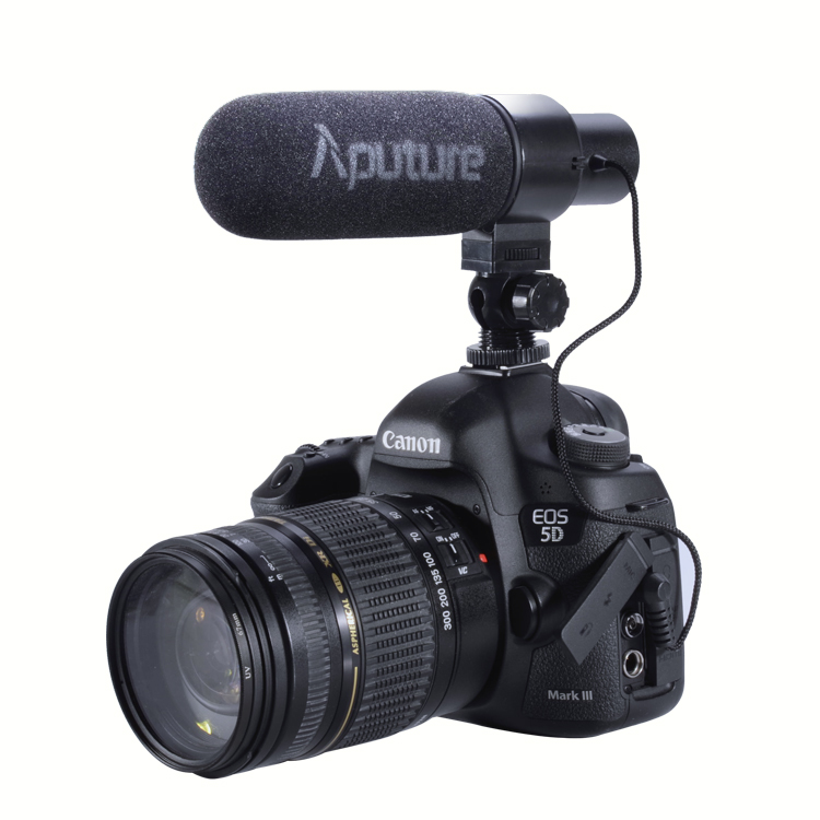 Original Aputure V-Mic D1 Photography Condenser Shotgun Interview MIC Microphone for Nikon Canon DSLR Camera Recording Video DV videomic go condenser shotgun microphone video interview reporting conference cardioid mic for digital dslr camera