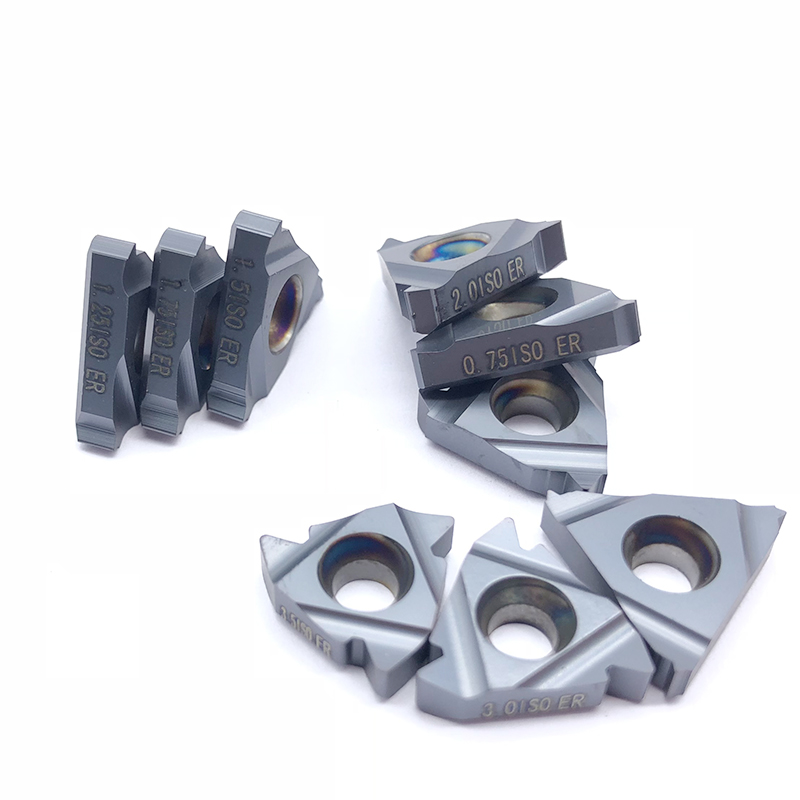 Image 2 - 10pcs 16ER 1.5 ISO BMA 0.75 1.25 2.0 3.0ISO Carbide Inserts Thread Cutting External Turning Tool CNC Cutter Blade SER TurretTurning Tool   -
