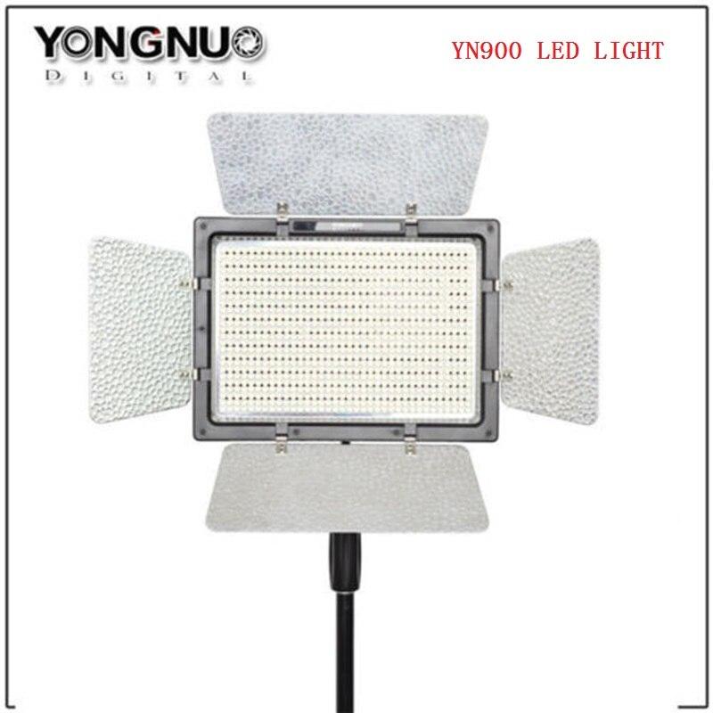 YONGNUO YN900 haut CRI 5500 K panneau de LED vidéo télécommande par téléphone APP 900 faisceaux LED lumière vidéo Solution d'éclairage extérieur