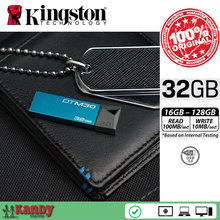25 unids DTM30 Kingston Mini USB 3.0 flash pen drive 16 GB 32 GB 64 GB 128 GB clave gameMac cle usb stick flash bellek personalizado