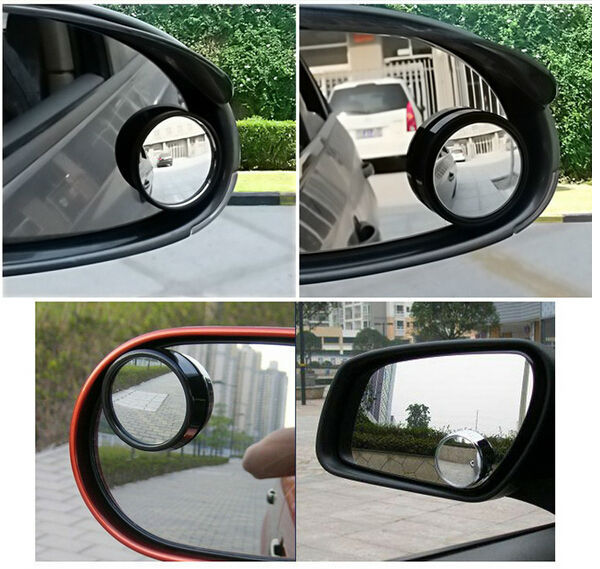 Wise Travel Oval Blind Spot Mirrors Car Wide Rear View