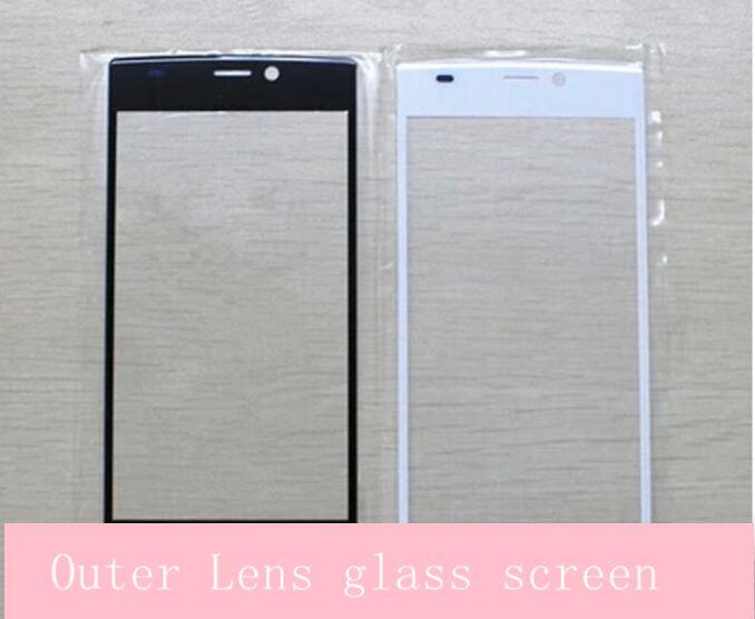 For Qmobile Noir Z6 outer lens glass scr