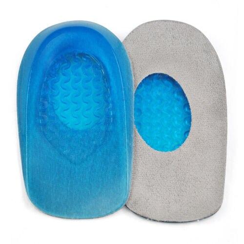 Wholesale10pcs*Stop Heel Pain -Gel Plantar Fasciitis Heel Support Pad for Shoes -Man