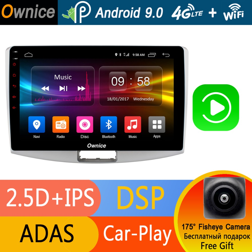 Octa Core 10 1 IPS Android 9 0 Car Radio Player DVD GPS For VW Passat