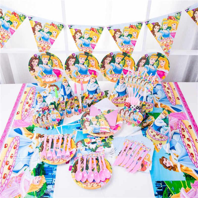 Decoracion Baby Shower Nina De Princesa.Dibujos Animados Blancanieves Cenicienta Campana Cumpleanos