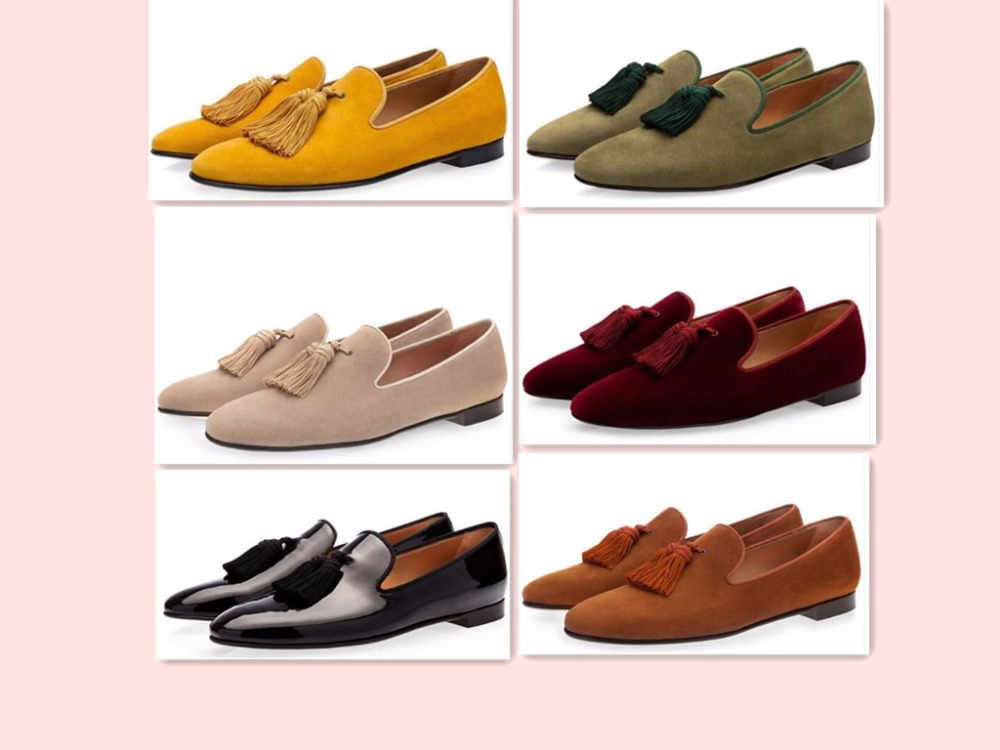 цены Fashion Design New Hot Men Flat Gentleman Shoes Luxury Suede Tassel Loafers Slip On Business Dress Shoes Party Wedding Shoes Man