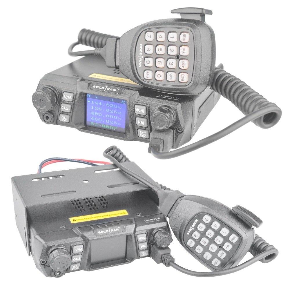 Nave da usa-RU ST-980PLUS Dual Band 136-174 mhz & 400-480 mhz 200CH VHF 75 w/ 55 w UHF Quad-standby ad alta potenza Mobile radio Ricetrasmettitore