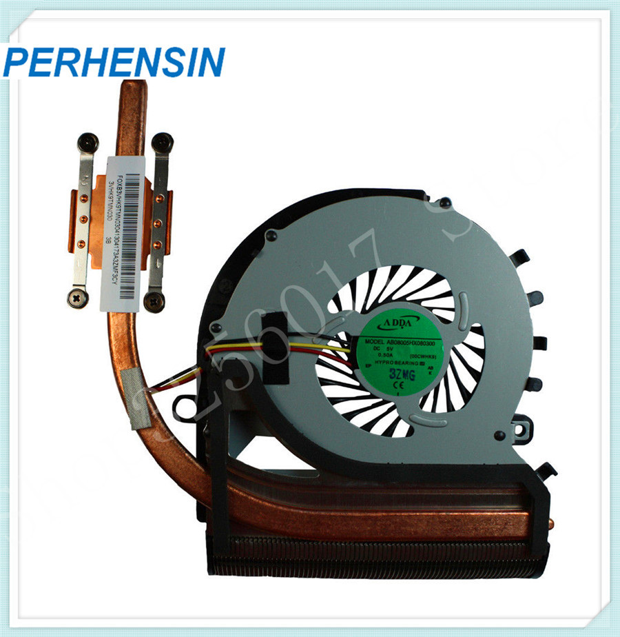 FOR SONY FOR SVF152 SVF152C29L Genuine Laptop CPU Cooling Fan w Heatsink 3VHK9TMN010
