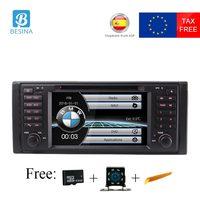 Besina 1 Дин DVD плеер для BMW E39 X5 M5 E53 автомобиля радио gps навигация руль Мультимедиа головного устройства стерео Авто Аудио автомагнитола магнито