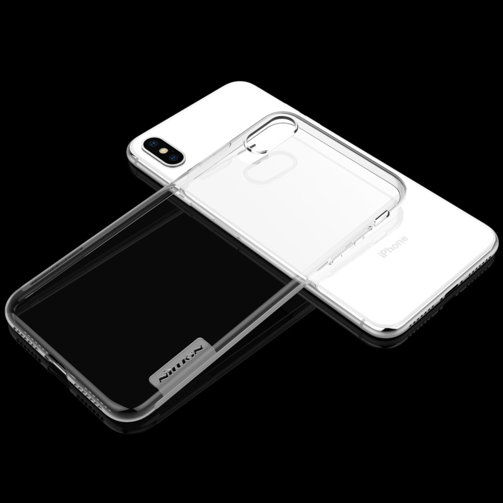 HTB1wKiJOYPpK1RjSZFFq6y5PpXat For iPhone XR Case Nillkin Nature Series Transparent Clear Casing Soft TPU Case For iPhone 11 Pro Xs Max XR 6 6S 7 8 Plus Cover