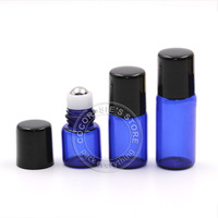 50pcs Lot 1ml 2ml 3ml Empty Roll On Bottle Essential Oil Bottle Small Glass Essential Oil