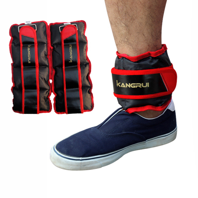 2pcs/1pair 2kg adjustable leg ankle weights straps