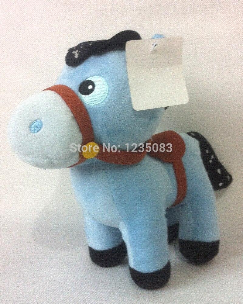 Новое поступление маленьких лошадь чучела Куклы, Шериф Калли сказки Wild West плюшевые игрушки
