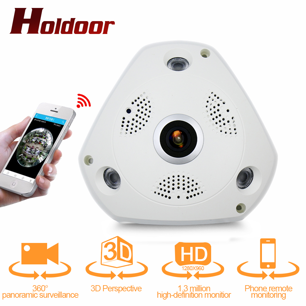 360 Degree IP Camera HD 1.3MP Fish Eye 3D Panoramic WIFI Wireless CCTV 3D VR Video IP Camera Cam Audio Remote Home Monitoring 3d очки oem google 3d vr hd 3d k0038