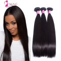 Brazilian Virgin Hair Straight 3pcs Lot Silky Brazillian Straight Hair 8-24inch Ms Cat  Hair Virgin Brazilian Hair Weaves