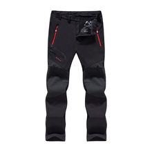 EX-Strech мужские зимние рыболовные водонепроницаемые походные флисовые брюки для пеших прогулок и восхождений на горы лыжные штаны из флиса для путешествий