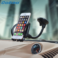 Universal Mobile Phone Holder Stand Car Windshield Mount Holder For Xiaomi Note Iphone 4s 5 5s