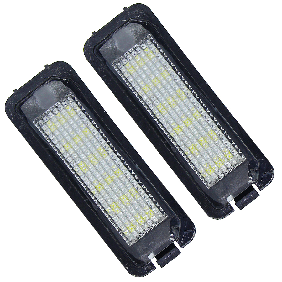 LED License Plate Lights Bulb For Porsche Boxster(987) Cayman(987) 911 Carrera(996 997) Turbo/GT2(966T 997T) 997 GT3 Cayenne 958