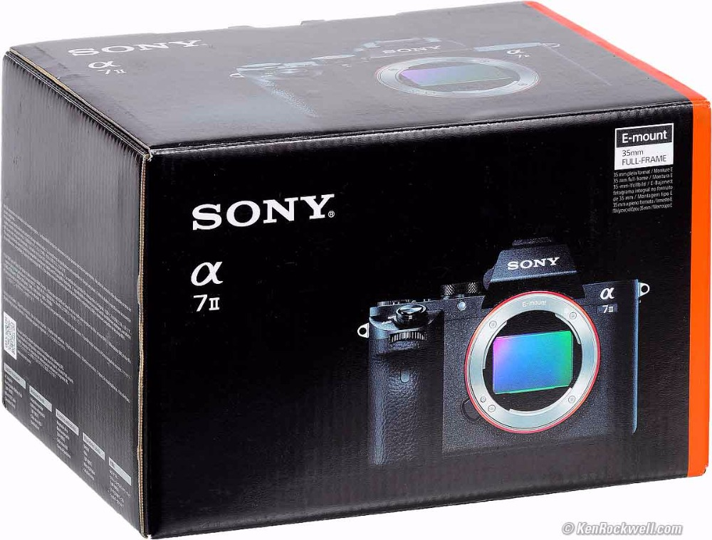 Sony ILCE-7M2 / A7 MK II Full Frame Digital Camera Body ONLY sony alpha a6500 digital camera body only