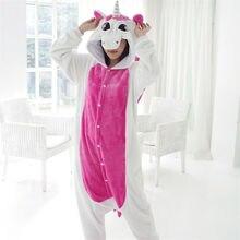 Adultos Onesie Unicornio Mujeres Tenma Unicorn Kigurumi Pijamas Animal Pijama Traje Del Anime de Cosplay de Lujo Pareja de Dormir 15 estilos