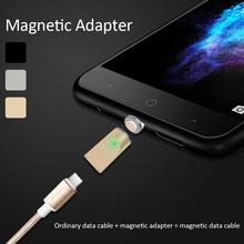 3A Current Fast Charge Magnetic Converter Three In One Adapter IOS Android Type-C Transfer Micro USB Connector
