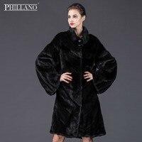 SALE Phillano Women mink garment natural fur coat short coat of mink big sleeve Scandinavia Denmark NAFA YG13084 105