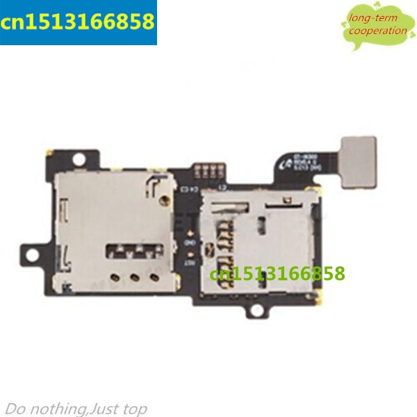 SIM Card Tray & Memory Card Holder Flex Cable Replace for Samsung Galaxy S III SGH-T999, SGH-I747