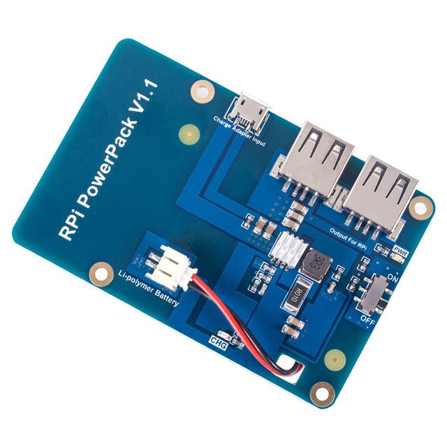Tarjeta de Expansión de la Batería de litio fuente de Alimentación con el Interruptor para Raspberry Pi 3 Modelo B, 2 Modelo B y 1 Modelo B +