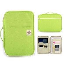 Document Organizer Filing-Holder Book Zipper Briefcase Portfolio iPad Office Kawaii Bag
