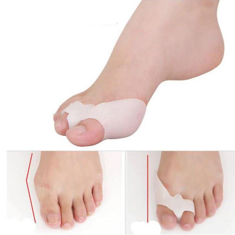 Alinhamento 25 par Silicone Foot Pain Relief