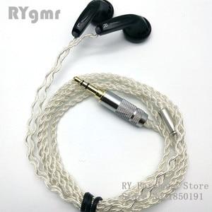 Image 2 - RY4S המקורי ב אוזן אוזניות 15mm מוסיקה באיכות צליל HIFI אוזניות (MX500 סגנון אוזניות) 3.5mm L כיפוף hifi כבל
