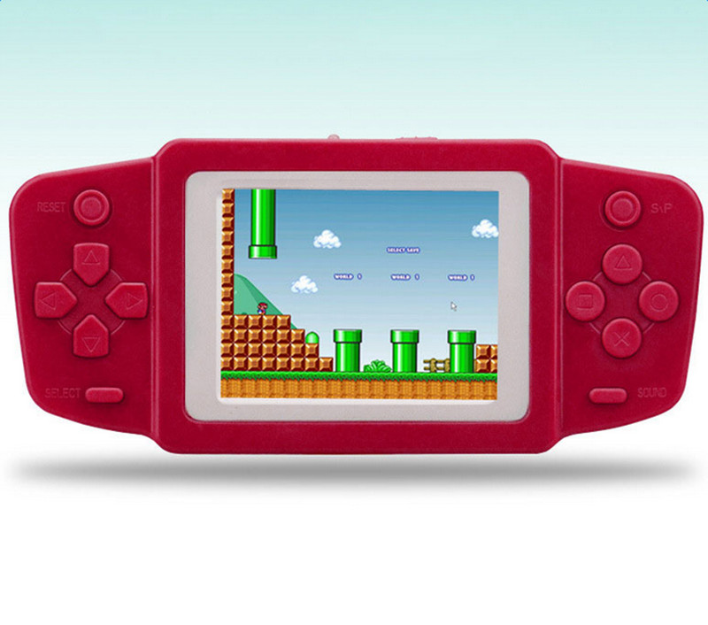 Mini Video Game Console Electronic Handheld Retro Brick Game Consola De Jeu 268 games 2.5Inch Games Player